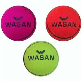 Wasan Tennis Cricket Ball, (Pack Of 3)