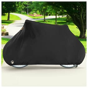Waterproof 190T Bike Cover for Mountain Bike, Road and Racing Bike - Black