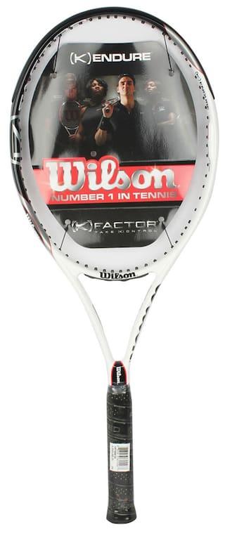 6f3ff0afaa Buy Wilson K Endure Frame 3 Tennis Racquets Unstrung Online at Low ...