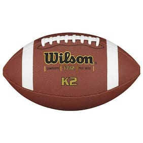 Wilson K2 Composite Pee Wee Football, Ages 6-9