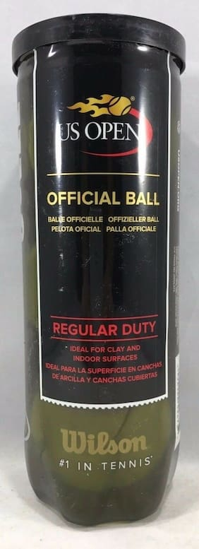 Wilson - WRT107300 - Regular Duty Tennis Balls - 1-Can/3 Balls