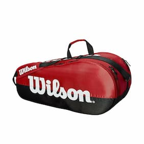 Wilson - WRZ857909 - Team 2 Compartiment Small Tennis Bag - Red/Black