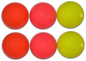 Wind ball pack of 6 balls standard size multi color