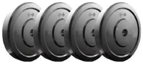 WISH BEST QUALITY DUMBBELL PLATES WEIGHT PLATES , 4KG WEIGHT OF EACH PLATE X 4 = 16KG