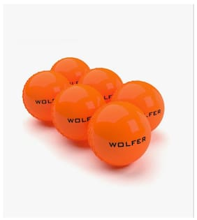 Wolfer Heavy Cricket Wind Ball(Pack Of 6)