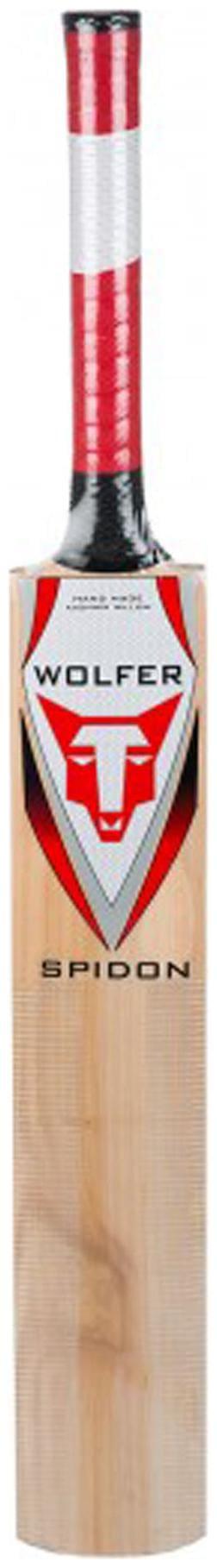 Wolfer Spidon Kashmir Willow Cricket Bat (Size-SH)