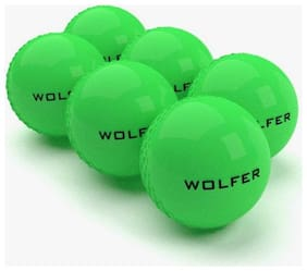 Wolfer Wind ball Green - Pack of  6