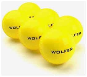Wolfer Wind Ball Yellow - Pack of 6