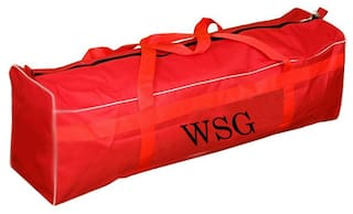 Wsg Cricket Kit Bag for individuals Red Color