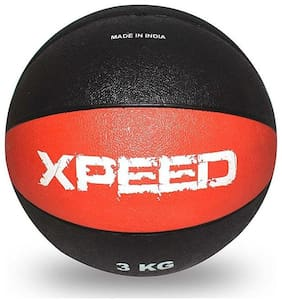 Xpeed Medicine Ball Rubber in Double Color (Color May Vary)