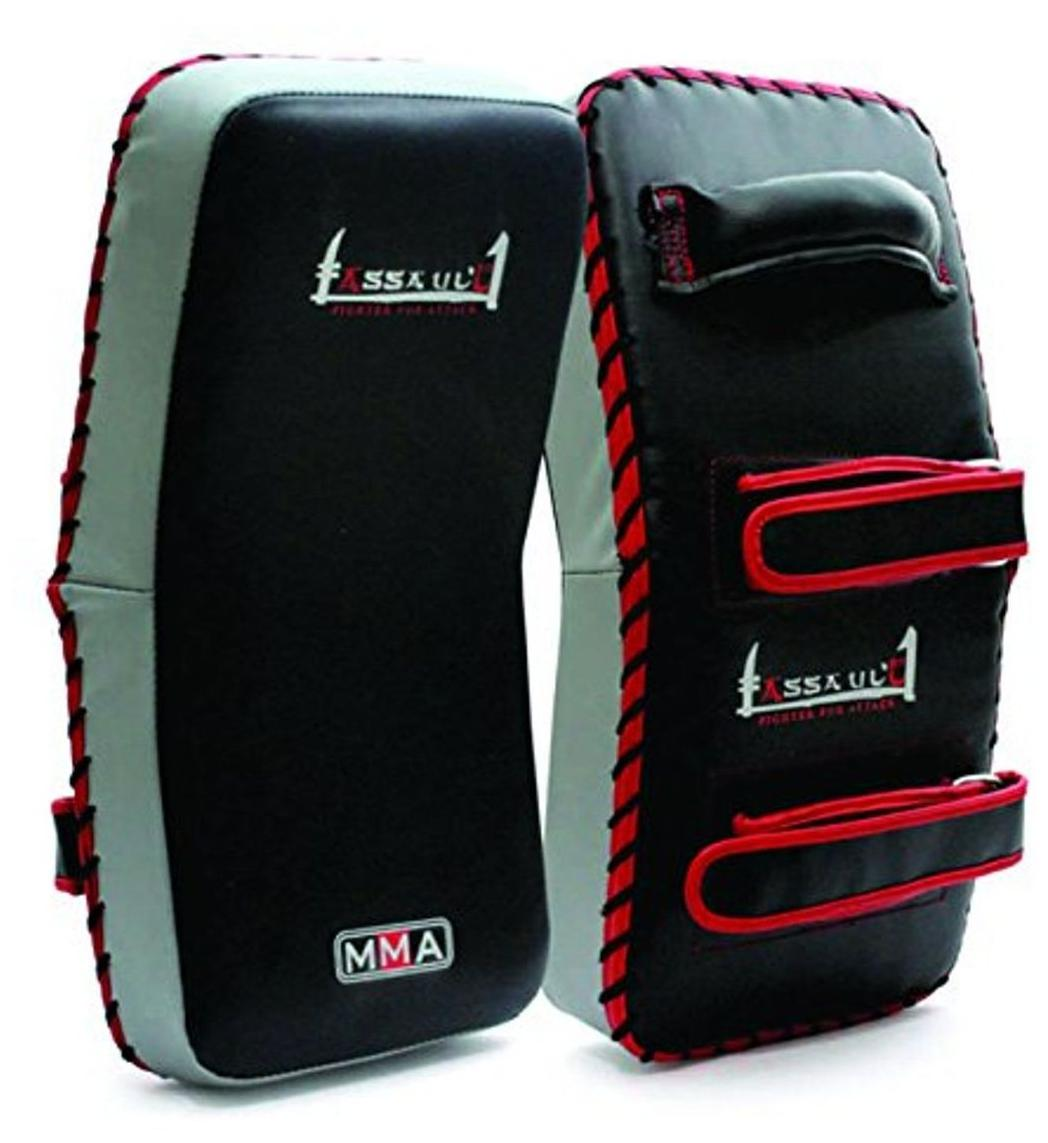 Fitness & Body Building 1pcs Kick Boxing Strike Curved Arm Leg Pad Mma Focus Muay Thai Punch Shield Mitt Sports & Entertainment 3 Colors Special Summer Sale