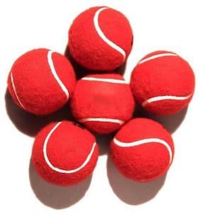 Xprospo Maroon Tennis Balls (Pack of 6)