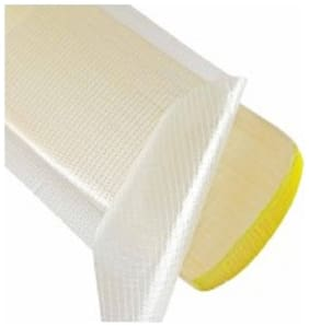 XS Cricket Bat Scuff Sheet Fibre glass Tape Fish Tape Cover For Bat Face Protection ( Pack of 2 ) size 28 cm x 14 cm