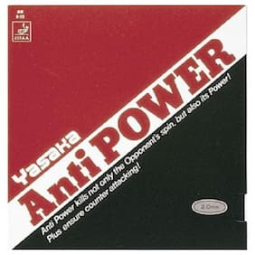 Yasaka ANTIPOWER- BLACK (Max) Table Tennis Rubber (Exclusive by Table Tennis Pro-Shop)