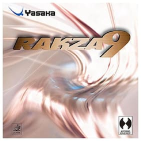 Yasaka RAKZA 9- RED (Max) Table Tennis Rubber (Exclusive by Table Tennis Pro-Shop)