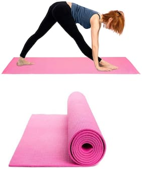 MARKETON Assorted Foam & Pvc Yoga mat - 1 pc