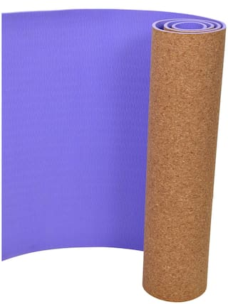 YogPro 6 mm Yoga Mat with Cover Natural Cork + TPE