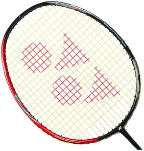Yonex Astrox 38D Graphite Strung Badminton Racquet (Red and Black)