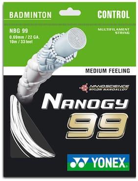 Yonex Nano Bg 99 0.69 Mm Badminton String 10 M