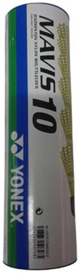 Yonex (Aff) Yellow Mavis 10 Plastic Shuttle Cock