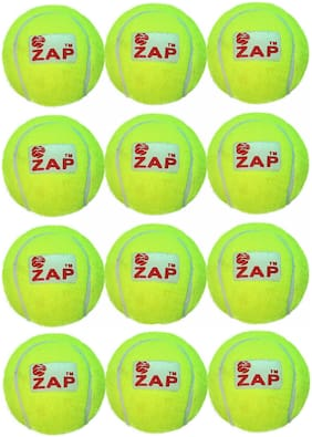 ZAP Tennis Ball(Green;12 pc set)