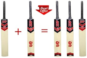 ZAP Tennis Cricket bat(Buy 2 get 1 FREE)-Size-8