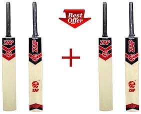 ZAP Tennis Cricket bat (Set of 2)-Size-8