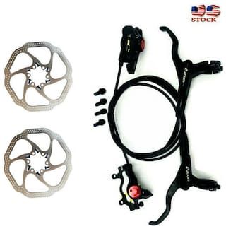 ZOOM MTB MTN Bicycle Hydraulic Disc Brake Front & Rear with 2pcs 160mm Rotors