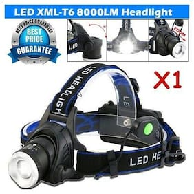 Zoomable 80000LM T6 LED Headlamp Headlight Flashlight Head Torch 18650 Camping