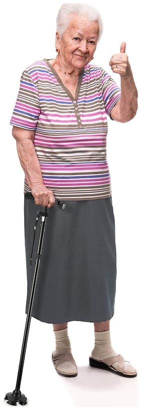 ZR Health Track Folding Walking Stick Walking Stick