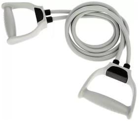 ZUKUNFT FASHION Double Toning Tube with Handles-Medium Resistance Tube Resistance Tube  (Grey)