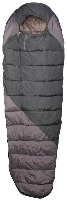 ZVR Fluffy Ultra Warm camping & hiking Sleeping Bag  (Multicolor) (0° C To -3° C) (PLATINUM SERIES)