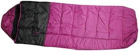 ZVR ULTRA WARM DESIGNER NYLON WITH BLANKET STUFF INSIDE BAG Sleeping Bag  (Purple)