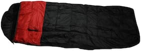 ZVR ULTRA WARM DESIGNER NYLON WITH BLANKET STUFF INSIDE BAG Sleeping Bag  (Black)