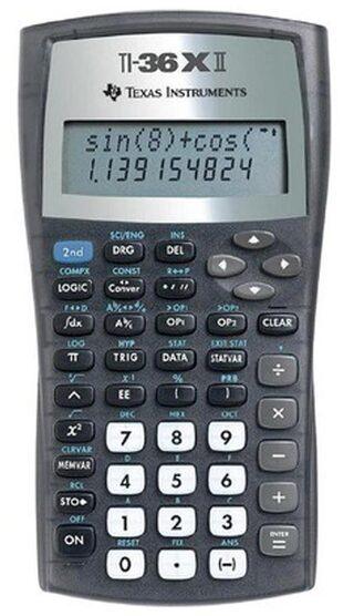 Texas instruments TI 36 XII Scientific Calculator