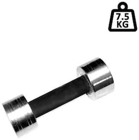 TTC Fitness Steel Dumbbell With Sleeve-15 kg (7.5 kg Each)
