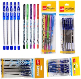 10 CELLO WINNER BALL PEN+10 CELLO MAY FAIR BALL PEN+10 CELLO SPEED BALL PEN+10 CELLO BRIGHT 'O' PEN+10 CELLO NOVA BALL PEN+10 CELLO FAST-O BALL PEN