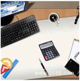 12-Digit Large Word Display Solar Power Calculator