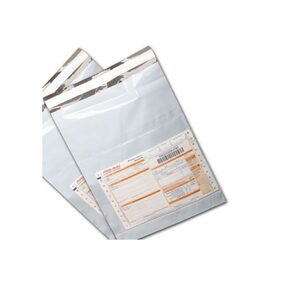 (12x16) 50 Pc Courier bag 60 Micron Self Adhesive  with POD Jacket