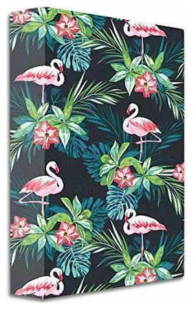 2-D Ring Binder Folder (Multicolor, Swan)