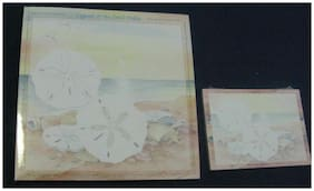 "2 NEW ""LEGEND OF THE SAND DOLLAR"" note pads 1 6X6 50 sheets/1-3X4 40 sheets"