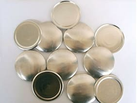 25 Cover Buttons Size 75 (1 7/8 inch) - FLAT BACKS