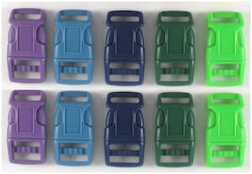 """3/4"""" (20mm) 10 Colored Dog Collar SIDE RELEASE BUCKLES 17 color choices SR 34"""