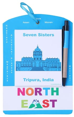 314 Door Note / Things To Do Pad Tripura North East India