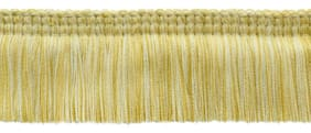"5 Yard Value Pack|Vanilla, Yellow Peach, Champaigne|Lush 2"" Brush Fringe Trim"