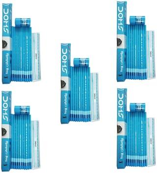 50 DOMS MUMMA'S BOY X-TRA SUPER DARK PENCILS (+1 SCALE +1 ERASER IN EACH PENCIL BOX)