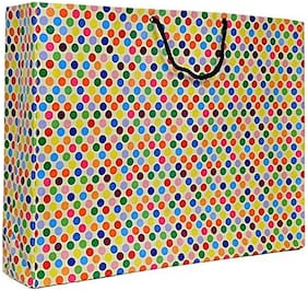 A&A Printed Laminated Paper Bag (13x17x4inch) - Pack of 10