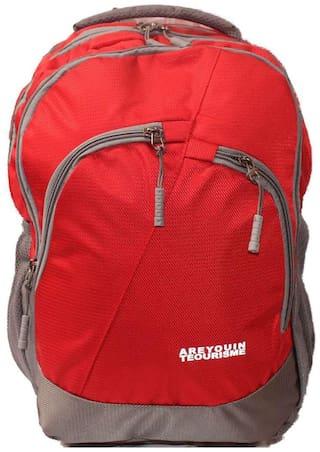 WONDER STAR 35 l Backpack & School bag - Purple & Grey