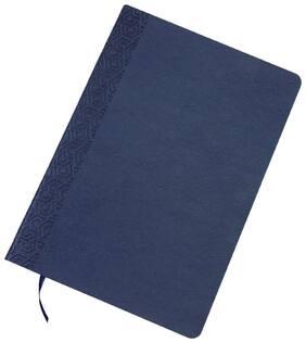 A5 NOTEBOOK SOFT PU - BLUE