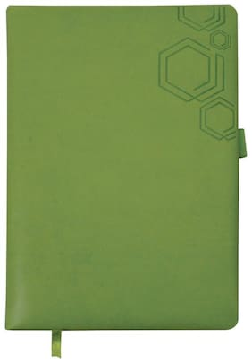 A5 NOTEBOOK CHANGER WITH FOAM - GREEN